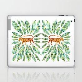 Jaguar – Green Leaves Laptop & iPad Skin