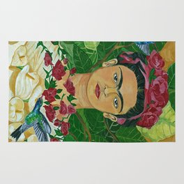 Frida In Heaven Rug