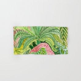 Leaves, Jungle, Snake Hand & Bath Towel