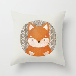 Cute Shiba Inu Throw Pillow