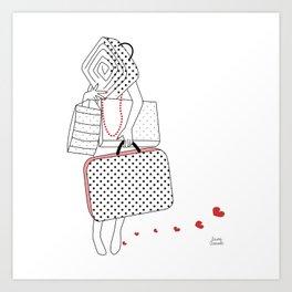 I'm Leaving You Art Print