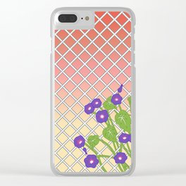 Morning Glory At Sunset Clear iPhone Case