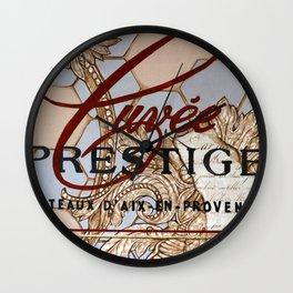 Cuvée Prestige Wall Clock
