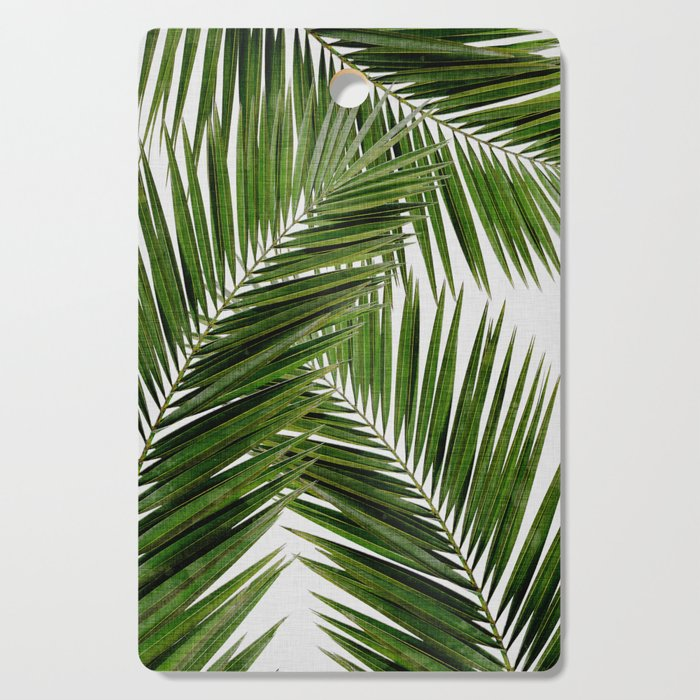 Palm Leaf III Cutting Board