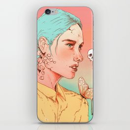 If I Could Only Live Once More iPhone Skin