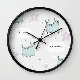 Catitude Wall Clock