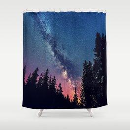Milky Way IV Shower Curtain