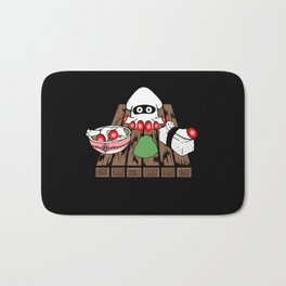 Super Blooper Sushi is what's for dinner Bath Mat