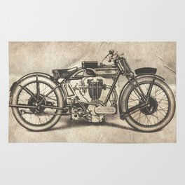 Norton Motorcycles Rug