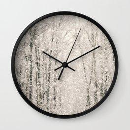 The White Stuff Wall Clock