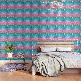 Mermaid Galaxy Sparkle Stars Wallpaper