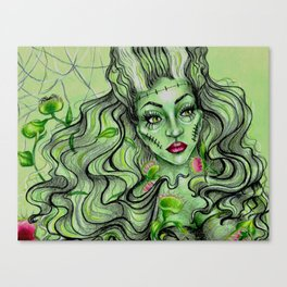 The Lady Is A Trap Canvas Print