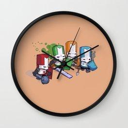 Castle Crashers Team Wall Clock