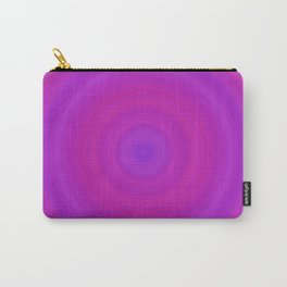 Orange & Purple Gradient Circles Carry-All Pouch