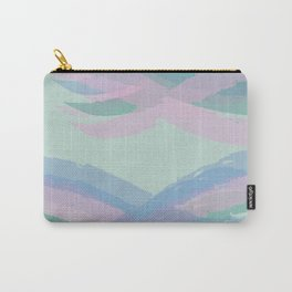 Double Mint Swooshes Carry-All Pouch