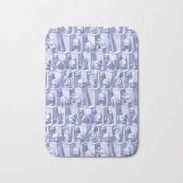 Elephants on toilets Bath Mat