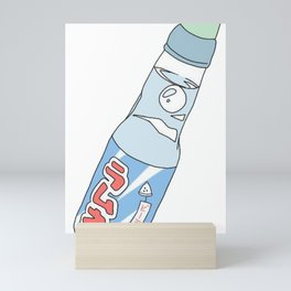 Kawaii Ramune Soda Drink Mini Art Print