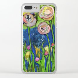Garden Story Clear iPhone Case