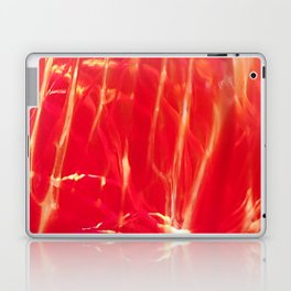 Red shiny dragonglass Laptop & iPad Skin