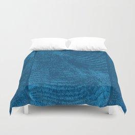 Wood Waves Duvet Cover