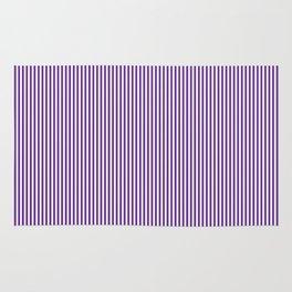 Purple Pinstripes Rug