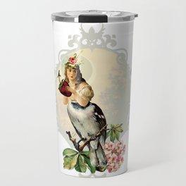 Pretty Bird Travel Mug