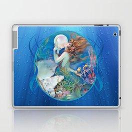 Sensual Art Deco Pearl Mermaid Laptop & iPad Skin