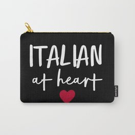 Italian at Heart (B&W) Carry-All Pouch
