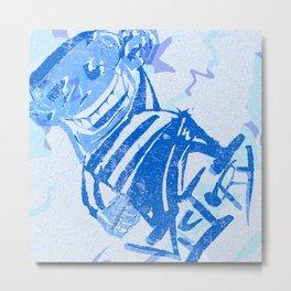 Blue victory Metal Print