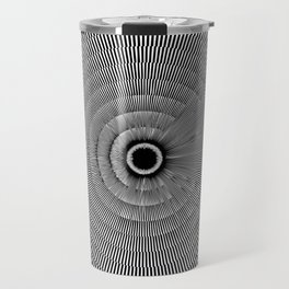 Moiré Circle Three Travel Mug