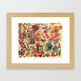 Edgy #2 Framed Art Print