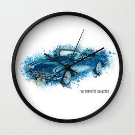 58 Roadster Wall Clock