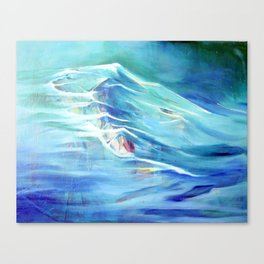 Into The Deep  Canvas Print