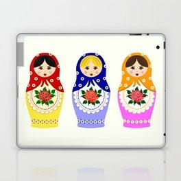 Russian matryoshka nesting dolls Laptop & iPad Skin