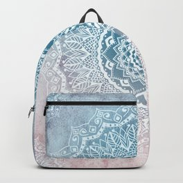 VINTAGE SPRING LACE MANDALA Backpack