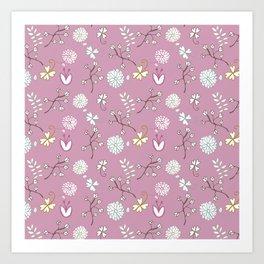 Sweet Pink Art Print