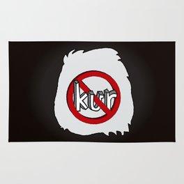 Dun Kur Bear [Don't Care Bear Black/Panda] Rug
