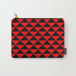 schwarz rot Carry-All Pouch