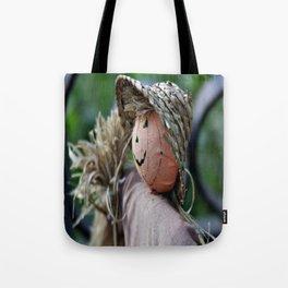 Autumn Scarecrow Tote Bag