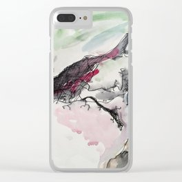 Spirit of a warrior Clear iPhone Case