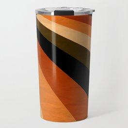 Autumn Stripes Travel Mug