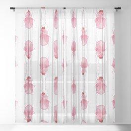 Sarcastic Beetle Sheer Curtain