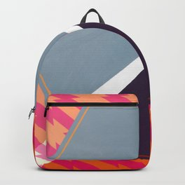 London - color hexagon Backpack
