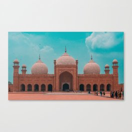 The Badshahi Mosque, Lahore, Pakistan Canvas Print
