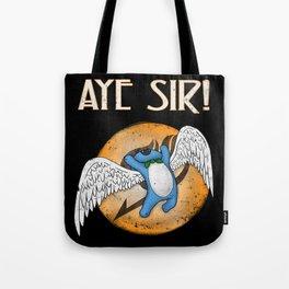 Aye Sir! Tote Bag