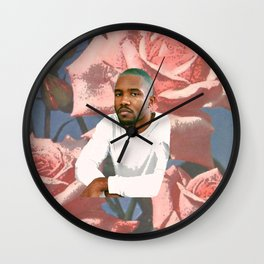 flowers for frank Wall Clock