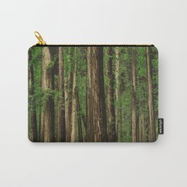 Sitting in the Forest Carry-All Pouch