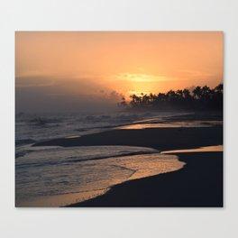 Photo 51 Ocean Beach Sunset Canvas Print