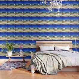 Blue Graffiti Wallpaper