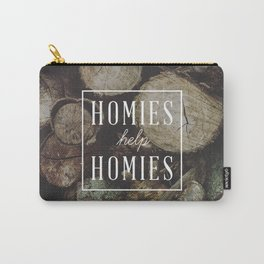 Homies Help Homies Carry-All Pouch